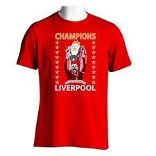 Liverpool League Champions Henderson T-Shirt Gift Souvenir
