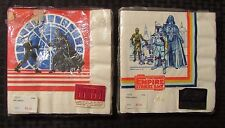 1980/82 STAR WARS Empire & Return Napkins SEALED Lot of 2 NM by Drawing Board