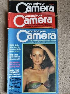 Vintage You and Your Camera Magazines - 7 issues