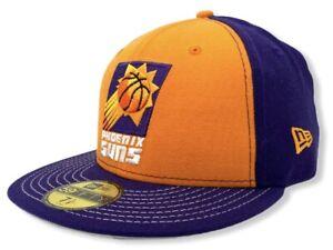 Phoenix Suns Mens New Era 59FIFTY Hardwood Classic NBA Basketball Fitted Hat Cap