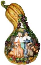 Roman Carved Gourd With Pilgrim Couple Preparing For The Holi 00006000 Days
