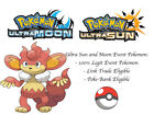 Pokemon Ultra Sun and Moon Popularity Contest Unpopular Simisear Event Pokemon