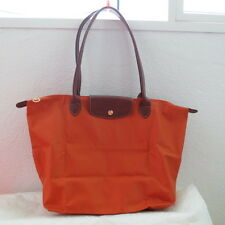 NWT LONGCHAMP LE PLIAGE TUBE HANDLE TOTE STYLE 2724089450 ORANGE