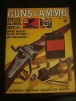 Guns & Ammo Magazine April 1966 Reloading Section Modern Magnums Pacific Can-Go