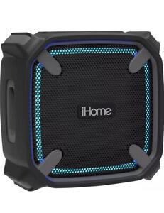 iHome - Weather Tough 3 Portable Bluetooth Speaker - Gray/Black