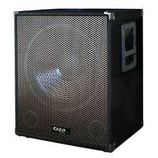 38 cm Aktiv Subwoofer Bass PA DJ Party Musiker Box Lautsprecher 800 Watt 15 Sub