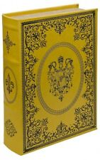 GOLD CREST STORAGE BOX, THAT LOOKS LIKE A BOOK! A GREAT GIFT! MIRRORED
