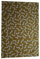 House by John Lewis Wiggle Rug Swiggle 170 x 240 cm Saffron 5 x 8 ft Sealed New