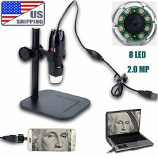 20x - 800x 2MP USB Digital Microscope Endoscope Video Inspection Camera Android