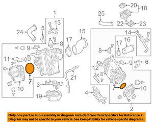 MERCEDES OEM 12-16 E350 Throttle Body-Gasket 2761410280