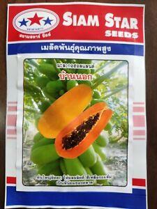 2 packet Asian/ Bangladeshi Tasty Papaya F1 1 g Hybrid Seeds 💯