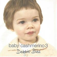 Baby Cashmerino Book 3 Knitting Instruction Patterns Debbie Bliss Sweater Vest+