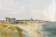 Tom Macdonald Tynemouth Longsands Mounted Print