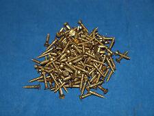 200 Stück Holzschrauben Holz Schrauben M 3,5x20 Messing M3,5x20 Senkkopf Schlitz