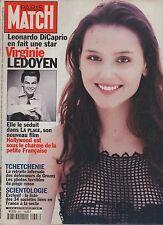 paris match n°2647 / ledoyen dicaprio scientolog / 2000