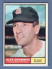1961 Topps #64 Alex Grammas(4) NM GO220