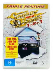 Smokey And The Bandit 1 2 3 - Triple Feature (DVD, 2007) 2 Disc Region 2, 4, 5