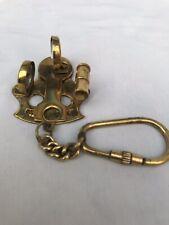 Nautical Marine Brass Sextant  Finish Keychain