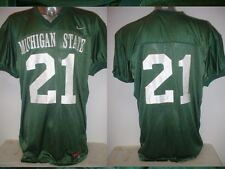 Michigan State Spartani JERSEY adulto XL SHIRT FOOTBALL NIKE NFL College Top
