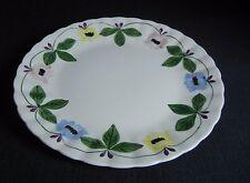 "Southern Potteries Blue Ridge:  Pretty ""Garland"" Luncheon Plate (15172)"