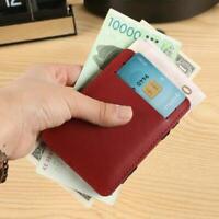 Slim Wallet Magic Credit Card Holder Coin Bag Money Clip Billfold Leather