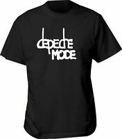 T SHIRT DEPECHE MODE unisex tour sizes 1988 usa all s black band men violator