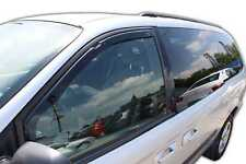 Chrysler Voyager GR 2001-2008  Front wind deflectors 2pc set TINTED HEKO
