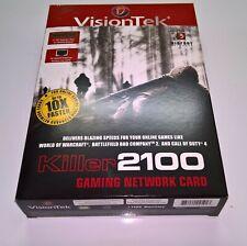 VisionTek Bigfoot Killer 2100 Gaming Network Card PCI-E NIC