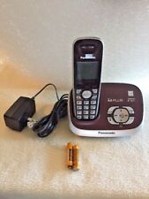 Panasonic KX-TG6521C Cordless Phone Answering Machine with wall or table mount