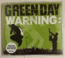 Green Day Warning CD-Single UK 2000
