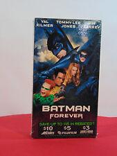 BATMAN FOREVER VHS TAPE 1995 MOVIE NEW IN ORIGINAL PACKAGING