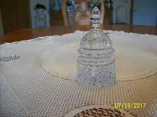 Waterford Crystal Capital Bell Shape Diamond Cut Pattern Made In Germany Paperwe