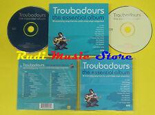 CD TROUBADOURS THE ESSENTIAL ALBUM compilation 2002 CASH (C1)no lp mc dvd vhs