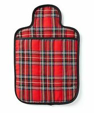 Hotties Quilted Royal Tarton Microwave Hot Water Bottle Heat Hand Body Warmer