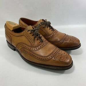 Allen Edmonds University Walnut Oxfords Lace Up Shoes 10.5 D