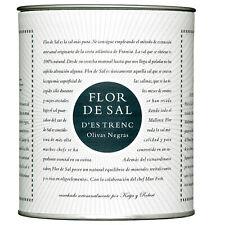 Flor de sal-olivas educadoras 150g/gusto mundial sal de Mallorca