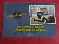 Fascicule  CITROËN MÉHARI MARCHAND DE GLACE 1978  DE CHEZ ATLAS NEUF