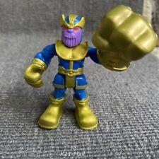 Playskool Marvel Super Hero Adventures POWER UP! THANOS w/Infinity Glove Figures