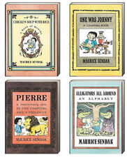Maurice Sendak Chicken Soup with Rice,Pierre,Alligator All Around +4 Board Books