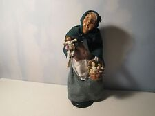 Byers Choice Cries of London 1995 Woman with Dolls Retired with Original Tag