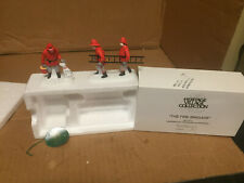 Dept 56 Christmas in the City Cic The Fire Brigade Set of 2 #55468