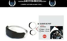 Protection pot echappement ROND OU OVALE moto Devil sc project Termignoni