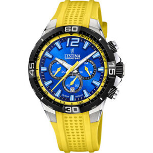 Men's watch FESTINA Chrono Bike F20523/5 blue