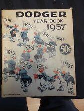 1957 Dodger Yearbook