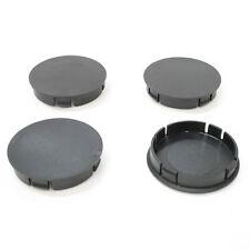 Universal PLAIN plastique Wheel Center Hub Caps 60 mm Couverture Voiture Auto Van Lot de 4