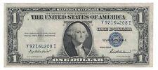 1935 F $ 1 ONE DOLLAR SILVER CERTIFICATE