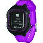 Garmin 010-N1353-20 Refurbished Forerunner 25 GPS Running Watch Black & Purple