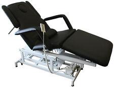 Massagetisch Massagebank Behandlungsliege 3-teilig elektrisch  Art 1600 sw