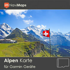 Topo carte Alpes edge Garmin GPSMAP eTrex Nuvi Astro Dakota Oregon Montana