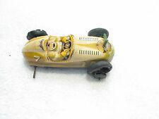 Vintage 1950's  Race car  #7  Toy racing Car Repairable or for parts  Japanese